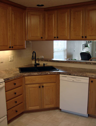 Image of kitchen cabinets by Patti Marvitz