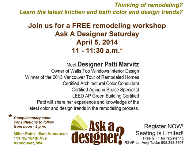 image of Patti Remodeling workshop details