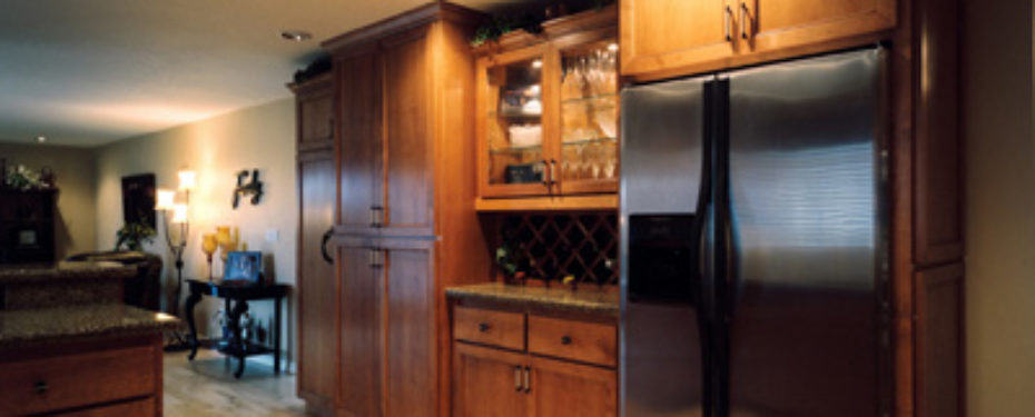 image of new kitchen after remodel by Patti Marvitz