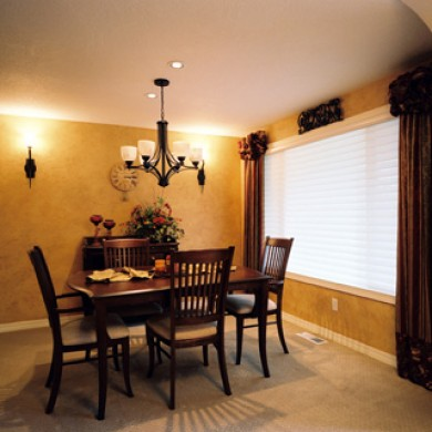 Image of new dining room remodeled by Patti Marvitz
