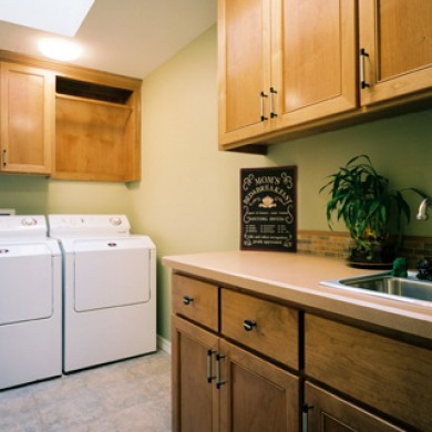 Image of remodeled laundry room