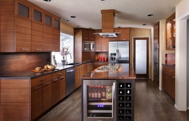 Image of a remodeled kitchen for 2013 clark country tour of remodeled home