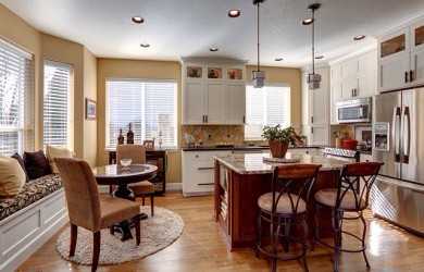 Image of a kitchen after remodeling by Patti Marvitz
